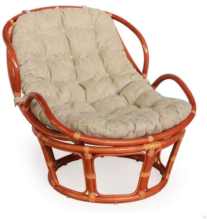 Кресло Папасан с подлокотниками