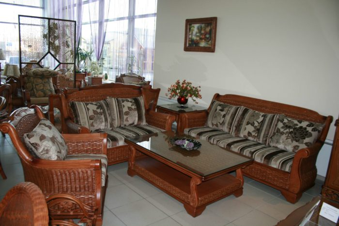 Комплект мебели из натурального ротанга «Флоренс»
