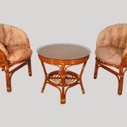 Комплект мебели плетёный из ротанга арт.0117