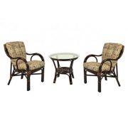 Комплект мебели плетёный из натурального ротанга Макита