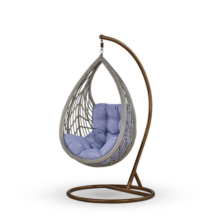 Подвесное кресло из искусственного ротанга арт.888