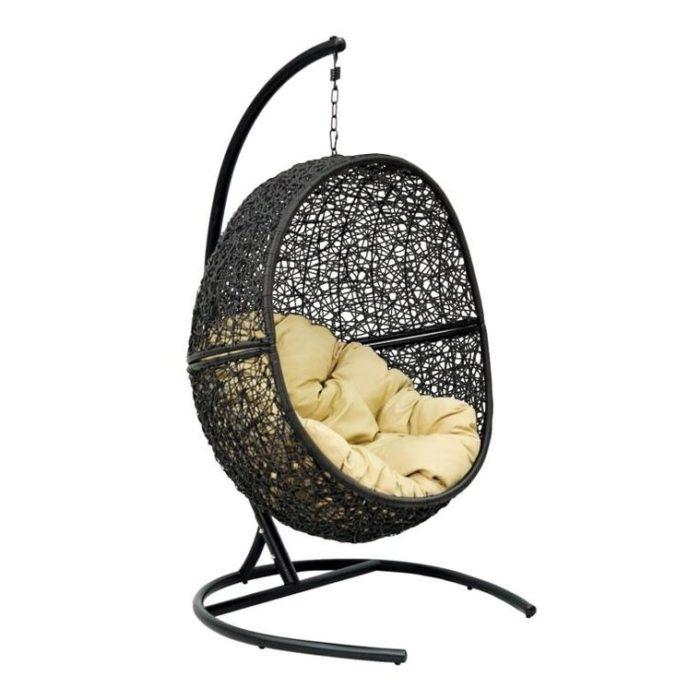 Подвесное кресло из искусственного ротанга LUNA
