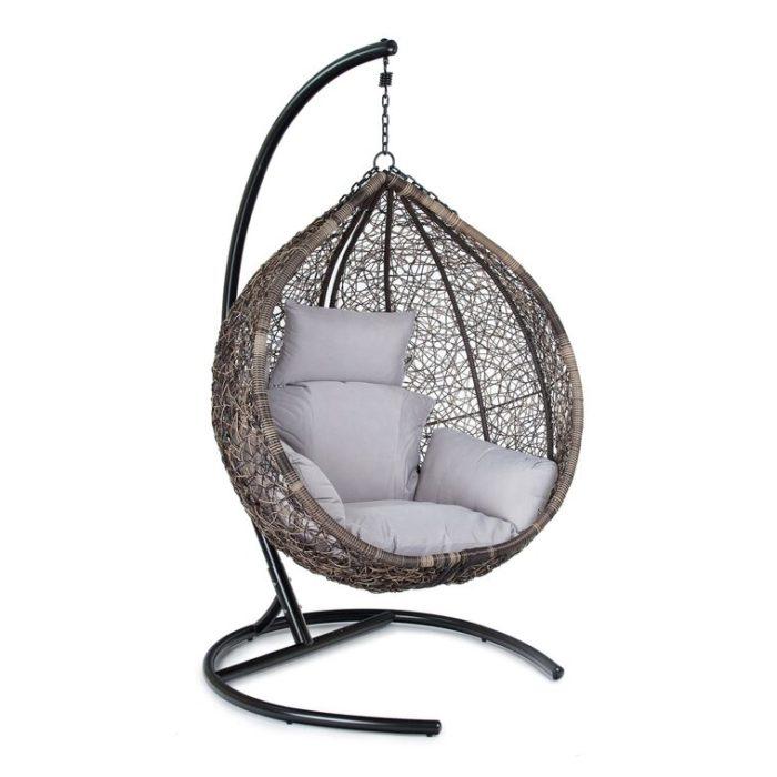 Подвесное кресло из искусственного ротанга ORIO
