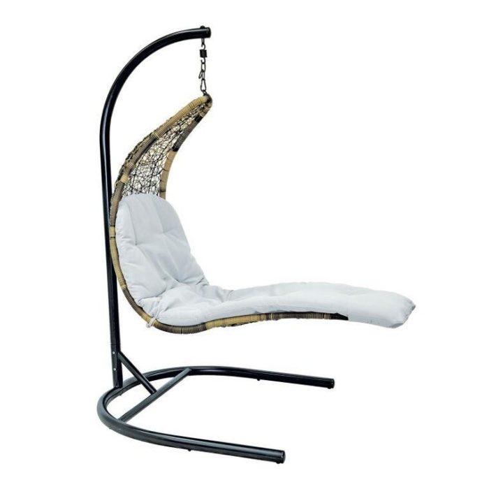Подвесное кресло из искусственного ротанга RELAX