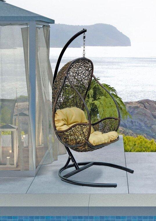 Подвесное кресло из искусственного ротанга FLY
