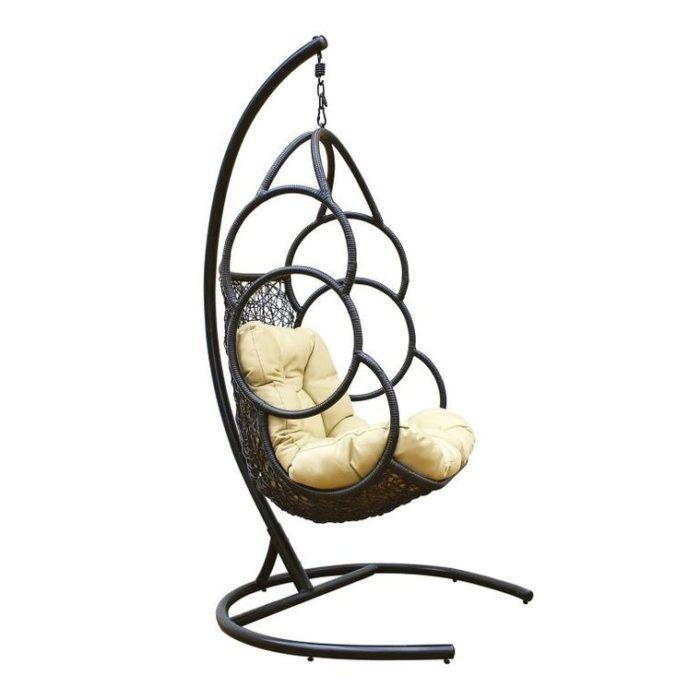 Подвесное кресло из искусственного ротанга GALA