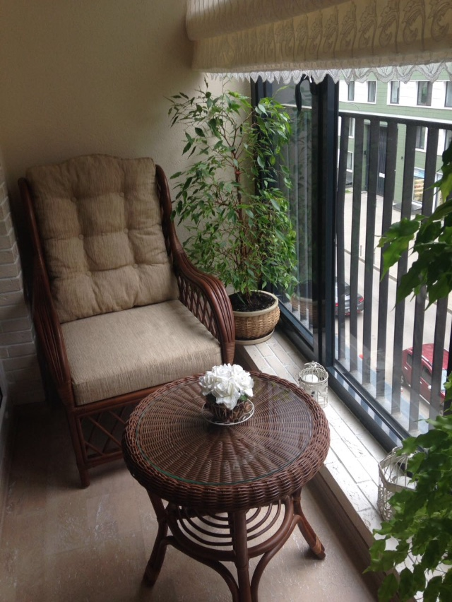 Кресло плетеное из натурального ротанга Аква
