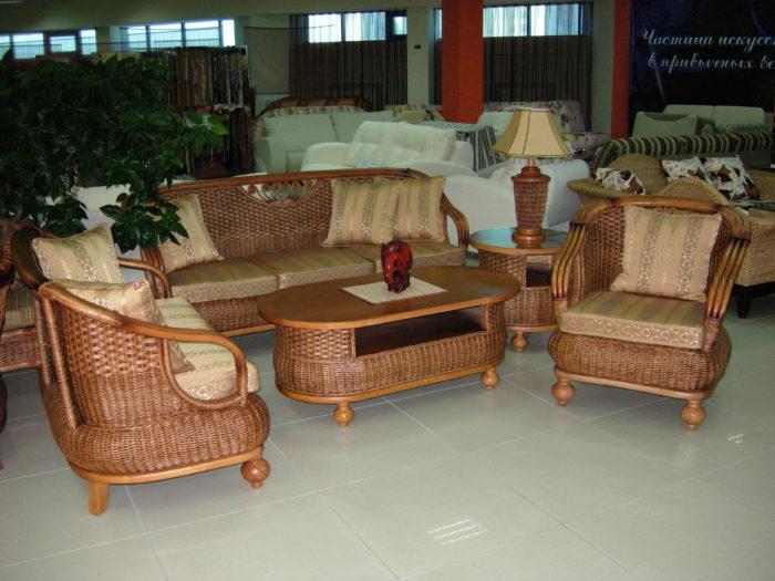Комплект мебели из натурального ротанга «Тунис»