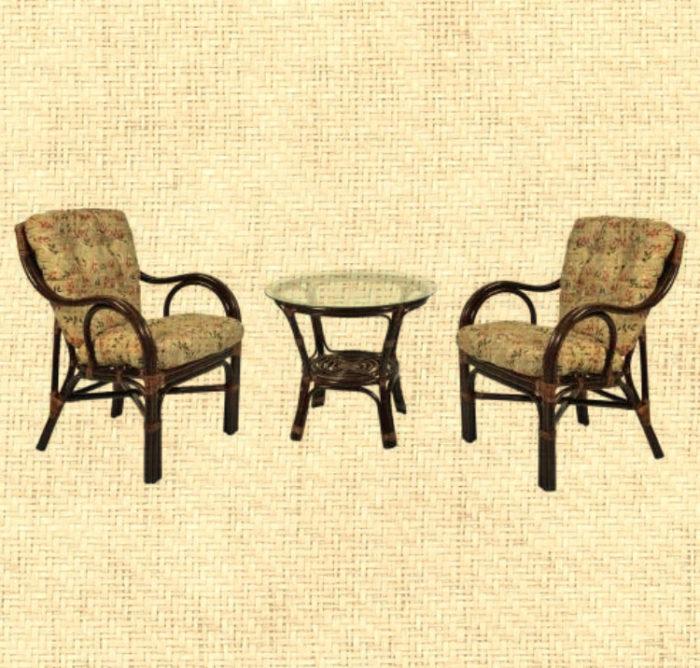 Комплект мебели плетеный из натурального ротанга Макита