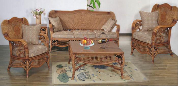 Комплект мебели из натурального ротанга «Султан»