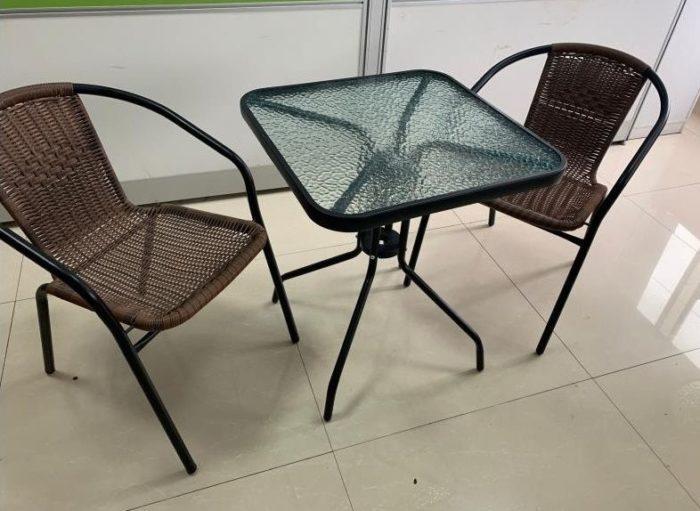 Комплект мебели из искусственного ротанга Трио