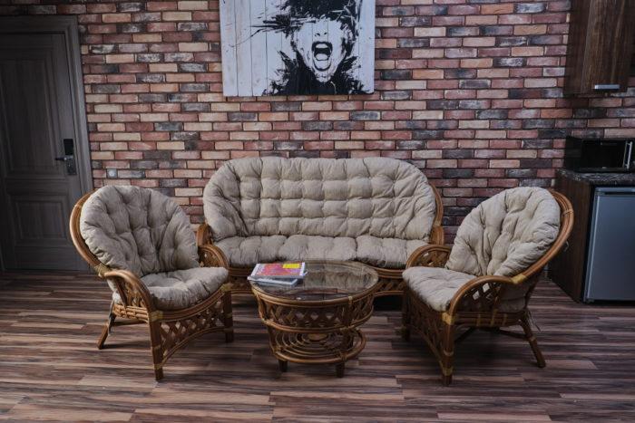 Комплект мебели Черчиль с 3-х местным диваном