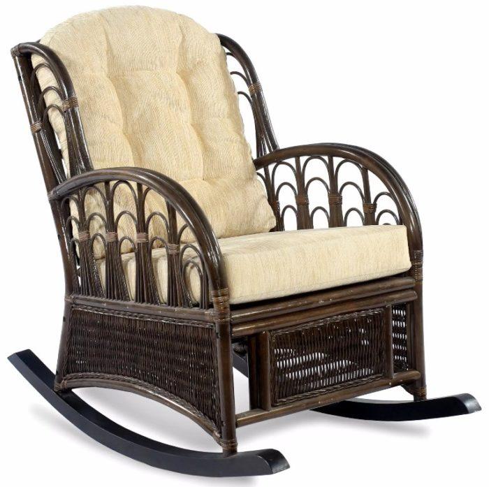 Кресло-качалка премиум