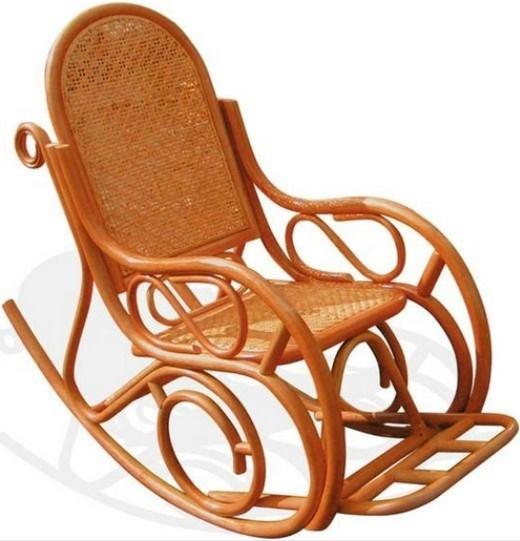 Кресло-качалка к камину