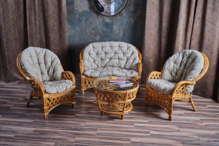 Комплект мебели Черчиль с 2-х местным диваном