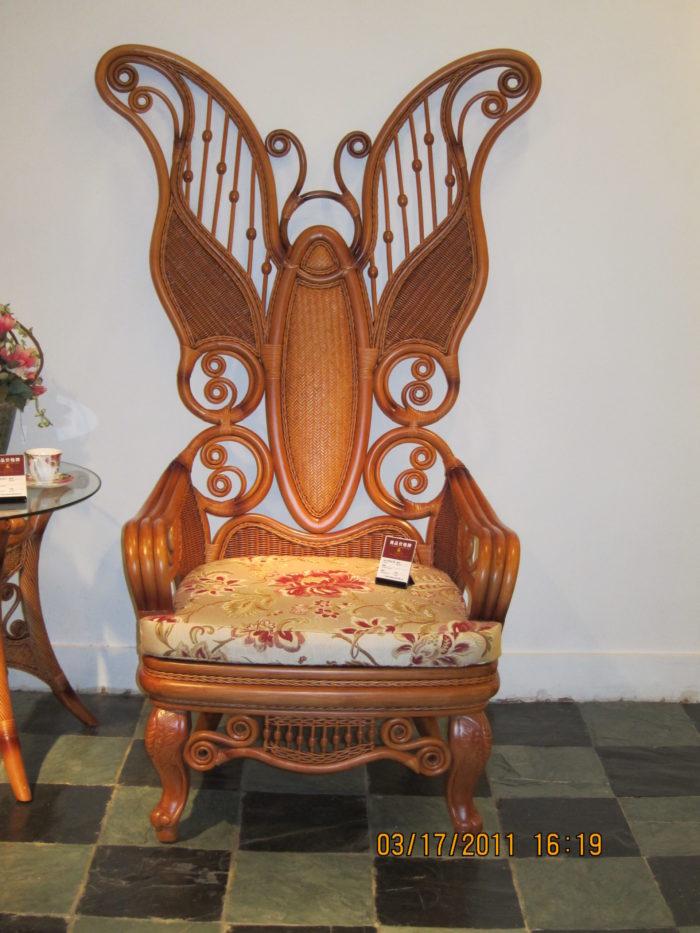 Кресло-трон  Бабочка