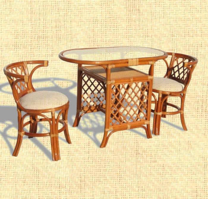 Комплект мебели плетёный из ротанга арт.0303