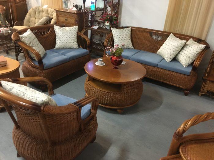 Комплект плетёной мебели из натурального ротанга «Тунис»