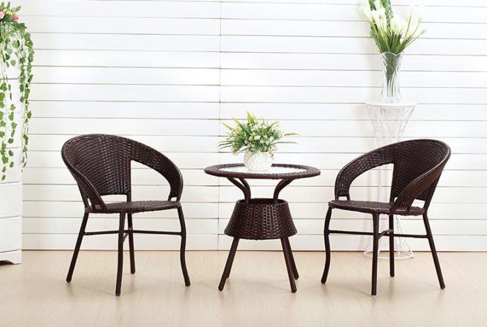 Комплект мебели из искусственного ротанга Бистро
